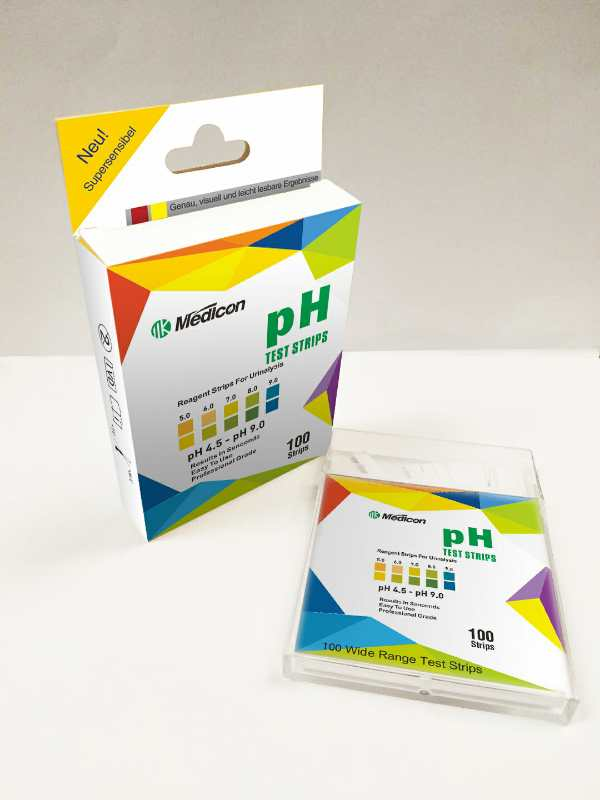 urine and saliva healthy ph4.5-9.0 test