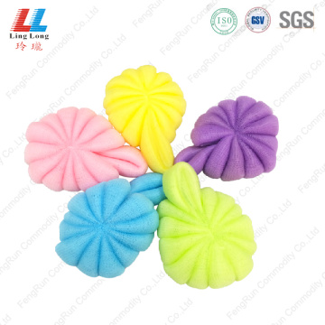 Graceful stunning flower bath sponge