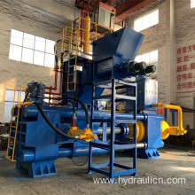 Horizontal 1000ton Steel Pellets Recycling Briquette Machine
