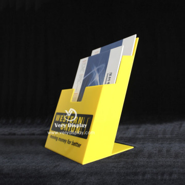 Multi Tiers Acrylic Display Rack Stand Brochure Holder