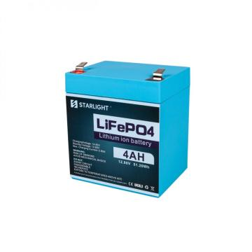 12.8V 4AH LiFePO4 Battery Replace Lead-Acid Battery