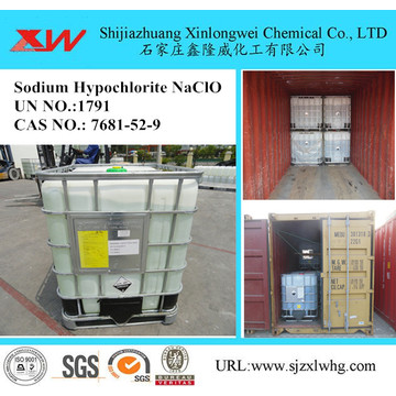 High Purity Sodium Hypochlorite