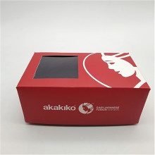 Takeout To Go Paper Sushi Box with Window