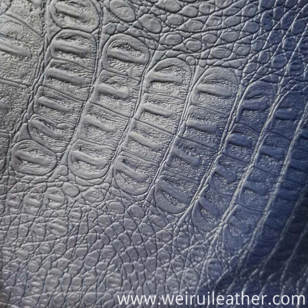 Snake Grain Pvc Artficial Leather 2