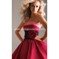 Vintage Red Concise Style Wedding Dress