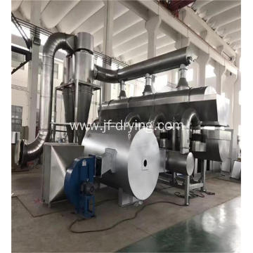 Continues vibration fluid bed drying machine
