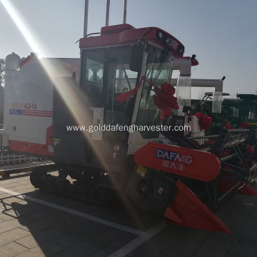 Hot selling 75kw rice harvesting 2200mm working width