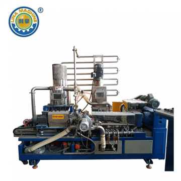 Underwater Extrusion Pelletizer for High Viscosity Materials