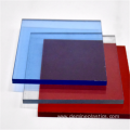 Double sided wear resistant transparent polycarbonate panel