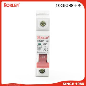 6ka Mini Circuit Breaker with SEMKO KNB1-63 4P