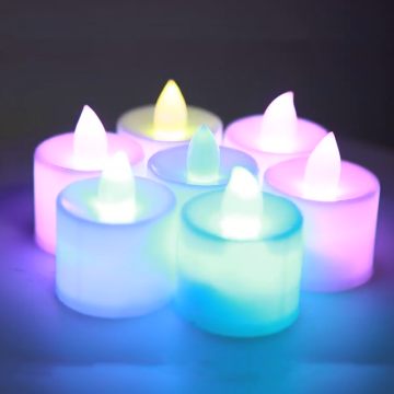 PP materail Led candle for holiday celebrating