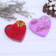 Heart Shape Six Chocolate Packaging Candy Boxes
