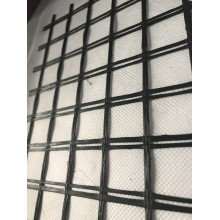 Fiberglass Geogrid Composite With Geotextile By Glue