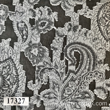 Jacquard Fabric With Paisleys Design
