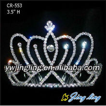 Rhinestone Hair Accessories Cheap Crowns