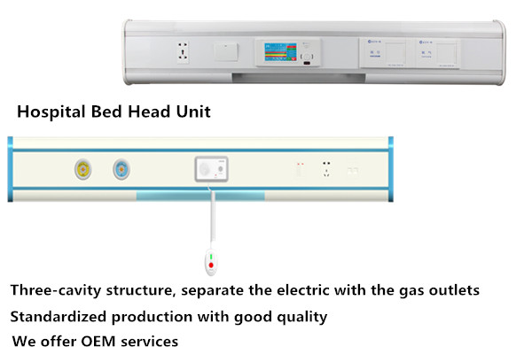 Medical ICU Room Bed head Unit System