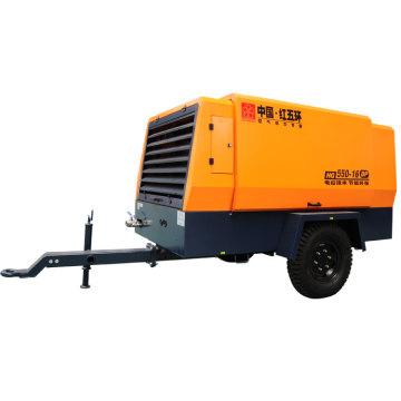 HG550-16C single stage diesel screw air compressor