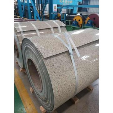 Stone color steel roll