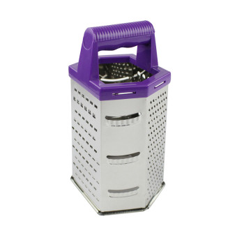 Multi-purpose 6 sides grater for Cheese Vegetables