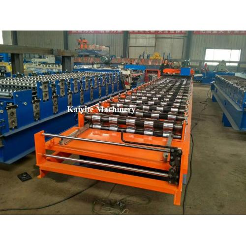 Fast Speed Roof Sheet Roll Forming Machine