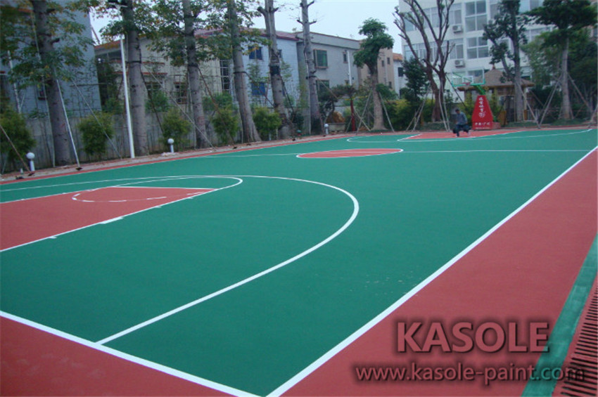 Basketball Court acrylic material cost