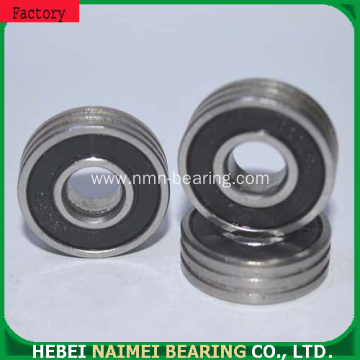 608ZZ/2RS industrial ball bearing with double groove