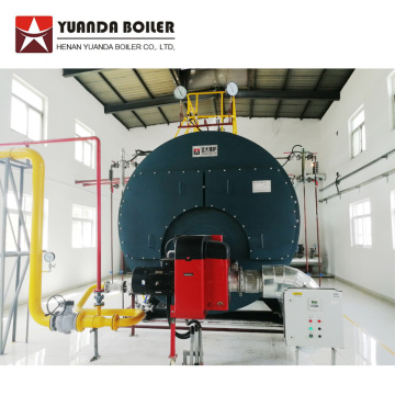 High Efficiency Natural Gas LPG Fired Steam Boiler