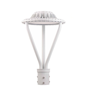 30W Led Post Top Area Light Fixture 130lm/w
