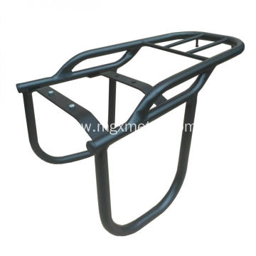 High Quality Black Steel Motorcycle Rear Luggage Rack