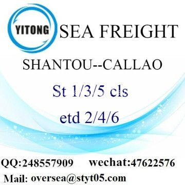 Shantou Port LCL Consolidation To Callao
