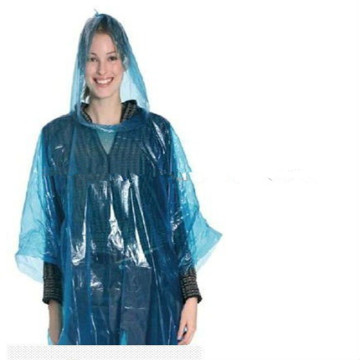 Adult Color Disposable Pe Poncho