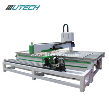 3d wood carving cnc router with T-Slot table