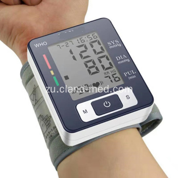 Uhlobo lwe-Wrist Digital Watch Watch Blood Pressure Monitor