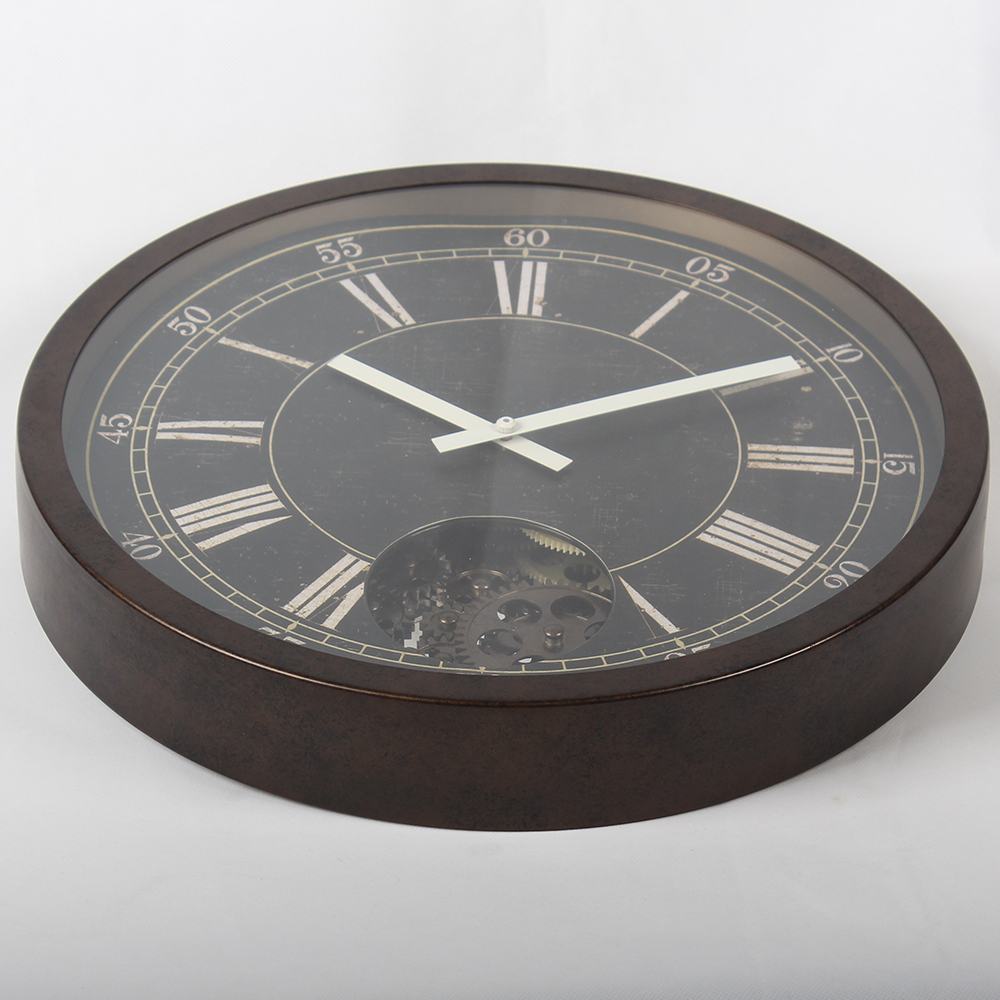 large traditional wall clock