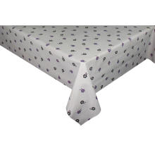 Elegant Tablecloth with Non woven backing Round Fitted