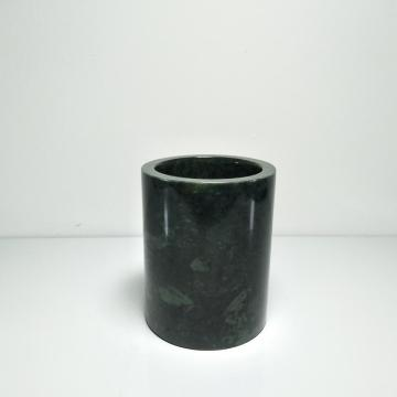 dark green marble bath bottle