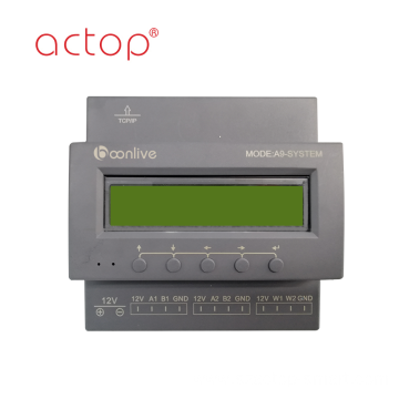 ACTOP smart hotel guest room control system RCU