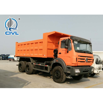 Heavy Duty 30-50 Tons LHD Beiben Tipper Truck