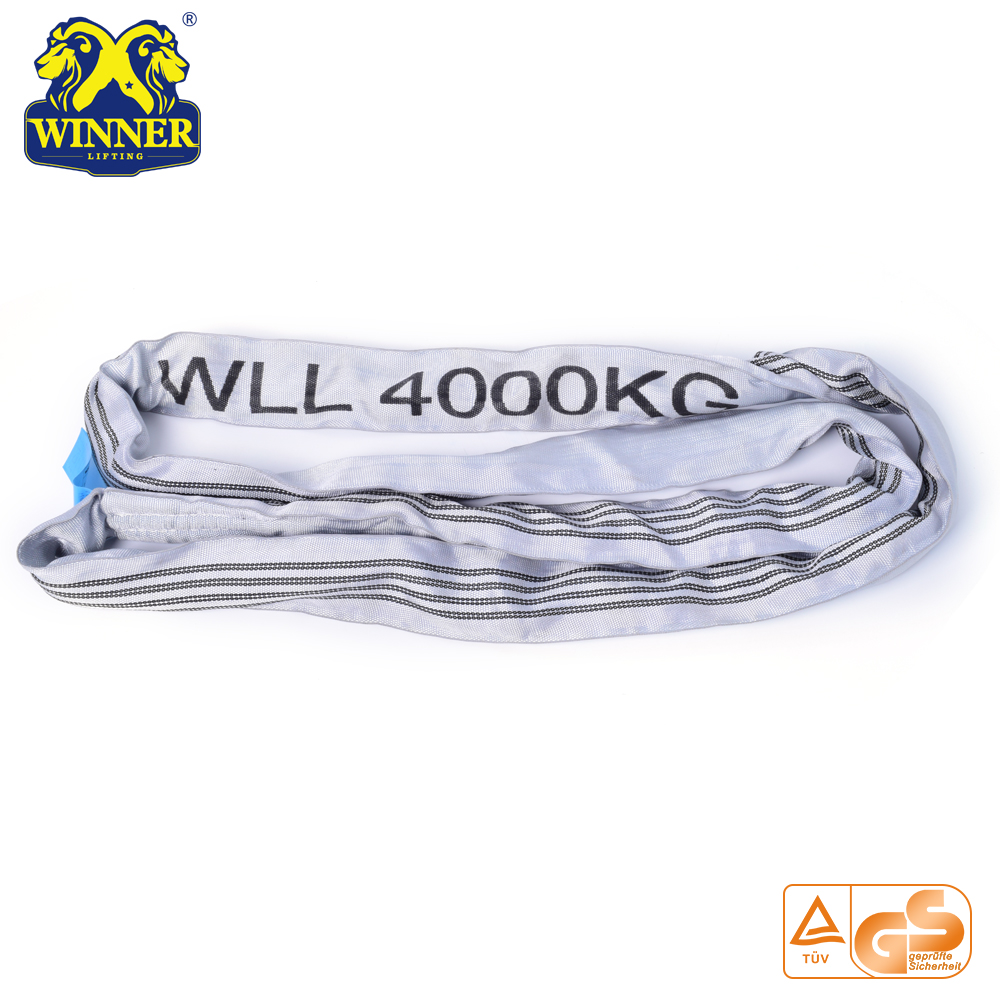 4 Ton Colorful Ring Round Webbing Sling