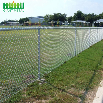 factory free sample Galvanized Chain Link Fence Installation
