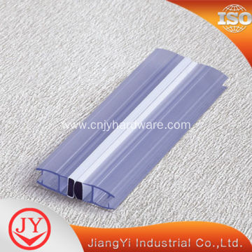 glass shower door magnetic strip sealing