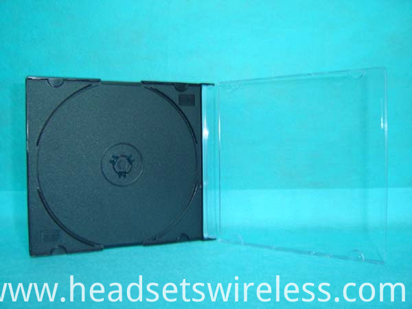 5mm Slim Cd Case With Black Tray3