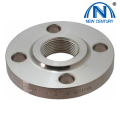 Zinc plated carbon steel screwed flanges