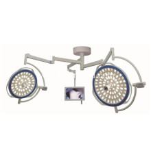 Double heads round OT lamp ceiling wall mounted