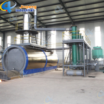 Ship Engine Oil Distillation Machine