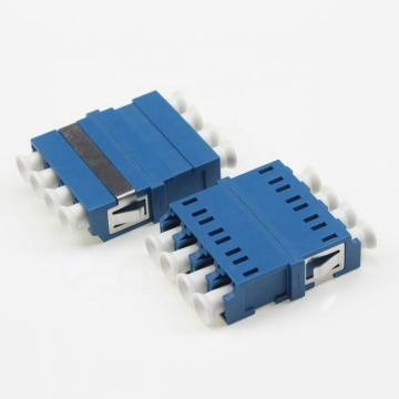 Quad LC to LC UPC Fiber Optic Adaptor
