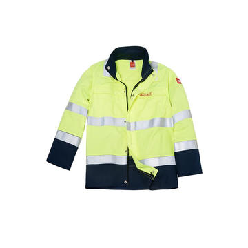 Flame Retardant Jacket with FR-Reflective-tape