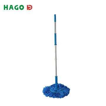 Custom Microfiber Hand Free Floor Cleaning Twist Mop