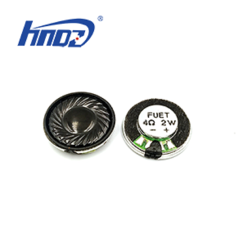 23x5.3mm 4ohm 2W Mylar Speaker 630Hz