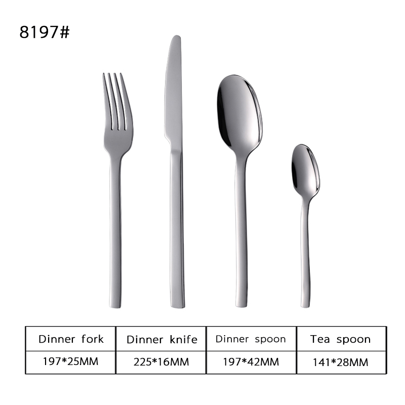 13-0 Plated Stainless Steel Tableware